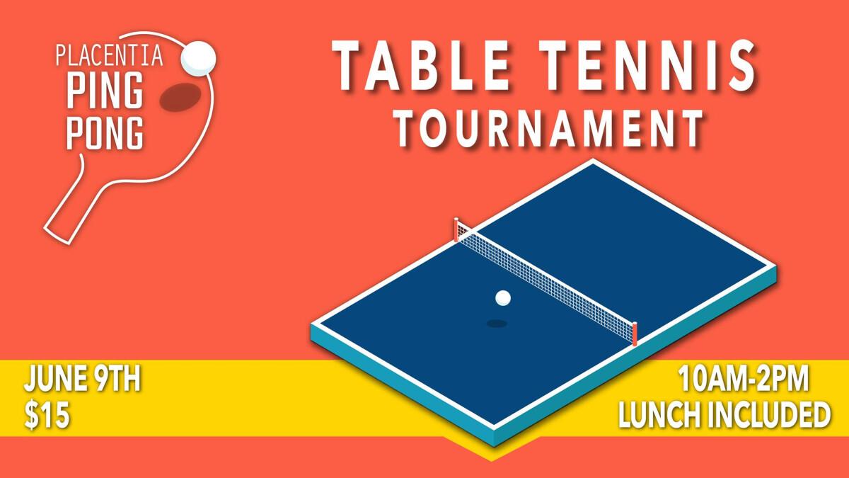 Ping Pong 2018 Tournament